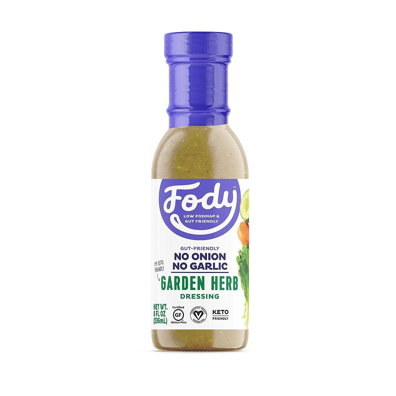 Fody Foods Vegan Garden Herb Salad Dressing   Low FODMAP Certified   Gut Friendly No Onion No Garlic   IBS Friendly Kitchen Staple   Gluten Free Lactose Free Non GMO