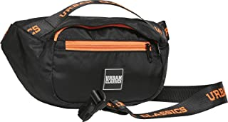 Urban Classics Shoulder Bag Unisex Umhängetasche schwarz/orange, Basics, Casual Wear, Streetwear
