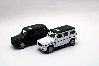 Mercedes Benz-AMC METAL CARS SUV WITH WHITE AND BLACK (BLACK)