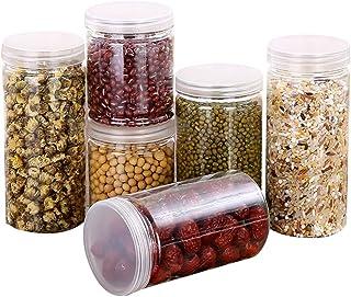 YueLove 1PC Boite de Conservation Alimentaire Grain Haricots Organisateur Cylindre Cuisine Boîte De Rangement des Aliments...