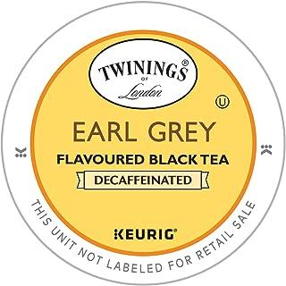 Twinings Earl Grey Decaf Tea Single Serve Pods, 24 Count