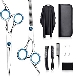 Tomight Hair Scissors Set, Professional Hair Cutting Scissors Kit, 6.7 Inch Hairdressing Scissors with 3 Combs, Haircut Cl...