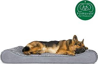تختخواب سگ Furhaven Pet | تخت خواب مخصوص حیوانات خانگی Ultra Plush Luxe Lounger برای سگ ها و گربه ها - در رنگ ها و سبک های مختلف موجود است