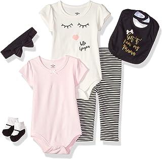 6c24beff11d Amazon.com  Beige - Layette Sets   Clothing  Clothing