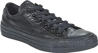 Unisex Chuck Taylor All Star Low Top Black/Black/Black Sneakers - 6 B(M) US Women / 4 D(M) US Men