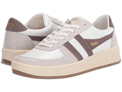 Gola Grandslam Reptile (Off-White/Taupe Grey) Women