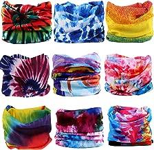 KALILY 12PCS/9PCS/6PCS Headband Bandana - Versatile Sports & Casual Headwear –Multifunctional Seamless Neck Gaiter, Headwrap, Balaclava, Helmet Liner, Face Mask - Camping, Running, Cycling, Fishing
