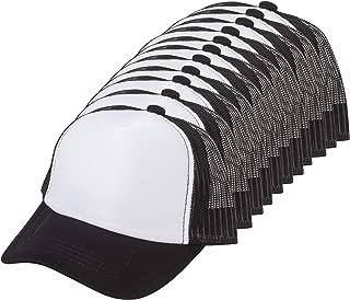 TOP HEADWEAR 12-Pack Youth Adjustable Trucker Foam Mesh Caps