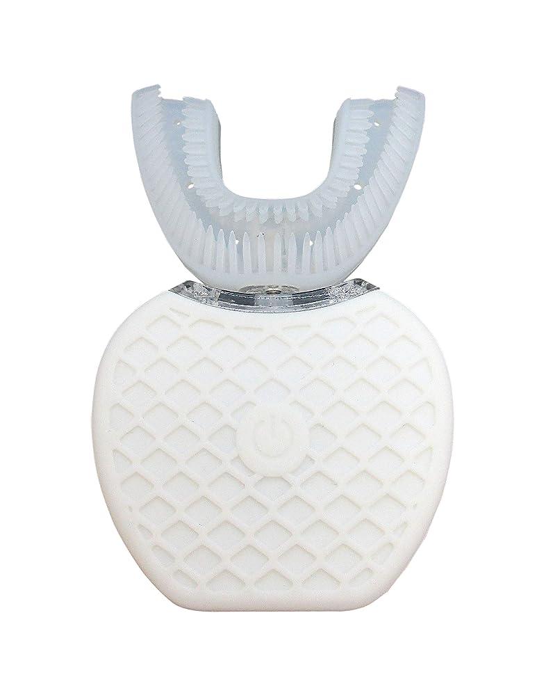 上院休戦パラナ川Broadwatch 電動歯ブラシ U型 360° 全方位 360度 4段調節 IPX7レベル防水 自動 歯ブラシ ホワイトニング