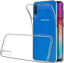 "Simpeak Funda Compatible con Samsung Galaxy A50 (6.4""/2019), Funda Transparente Compatible con Samsung Galaxy A50 Carcasa Silicona TPU Case - Transparente"