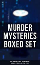 MURDER MYSTERIES Boxed Set: 880+ True Crime Stories, Action Thrillers, Whodunit Mysteries & Detective Stories: Sherlock Holmes, Dr. Thorndyke Cases, Bulldog ... Standish, Martin Hewitt, Max Carrados…