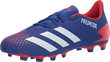 adidas Predator 20.4 Flexible Ground Football Shoe (mens) Team Royal Blue/Ftwr White/Active Red 7