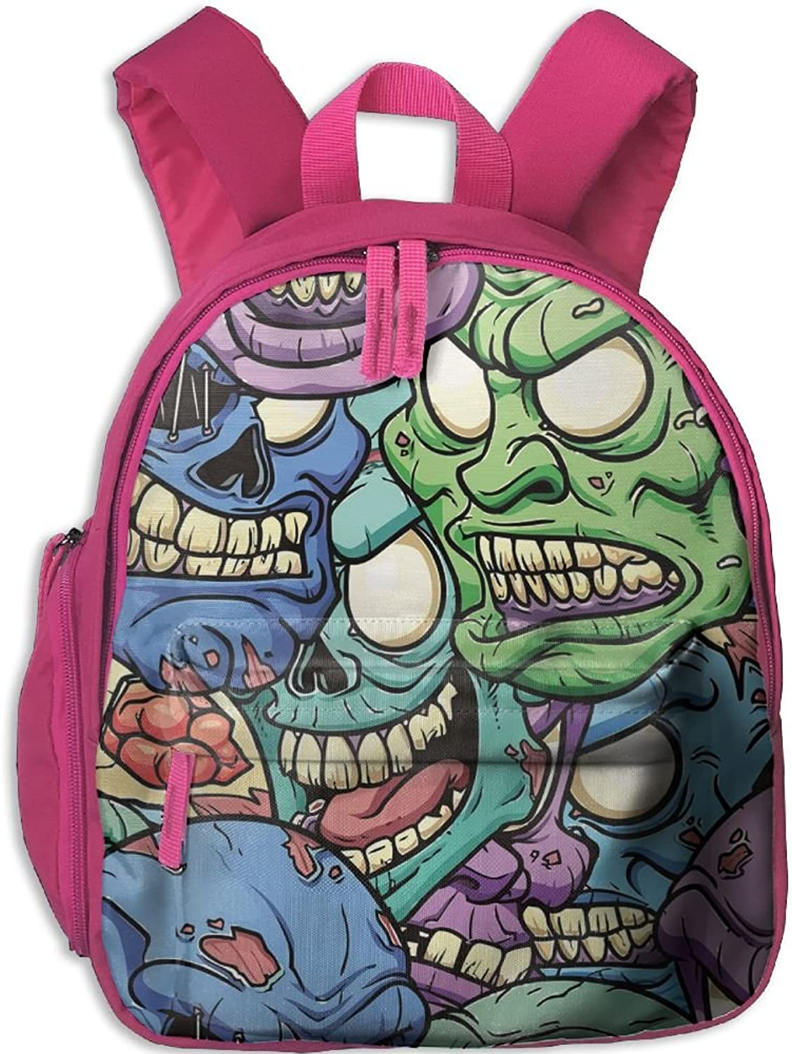 School Bag Zombies(2866) With Durable Travel Camping Backpack For Boys And Girls