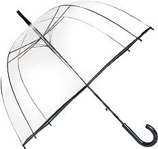 SMATI Parapluie Transparent Simple Finition Noir