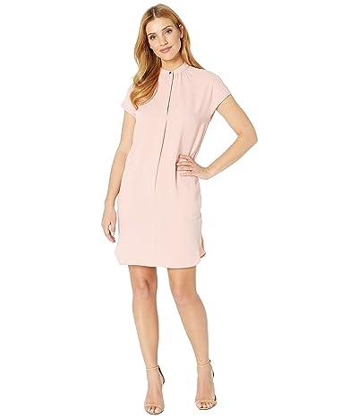 LAUREN Ralph Lauren Crepe Shift Dress (Primrose) Women