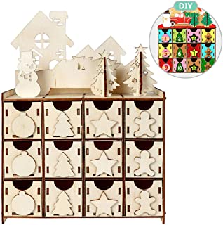 DIY Wooden Advent Calendar House