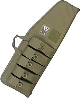 Paladins 38/42 inch Single Rifle Soft Cases with Foam Padding,Tactical Long Range Shooting Gun Concealed Carry Bag