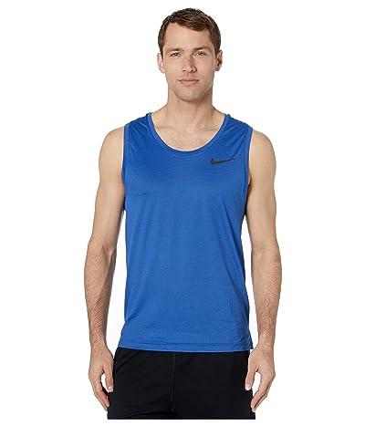 Nike Top Tank Hyper Dry (Obsidian/Game Royal/Heather/Black) Men