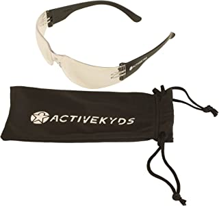 258142264c Active Kyds Safety Glasses for Kids Construction Costumes or Protective  Eyewear with Microfiber Pouch