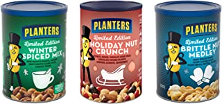 Planters Winter Spiced Mix and Brittle Nut Medley Holiday Bundle