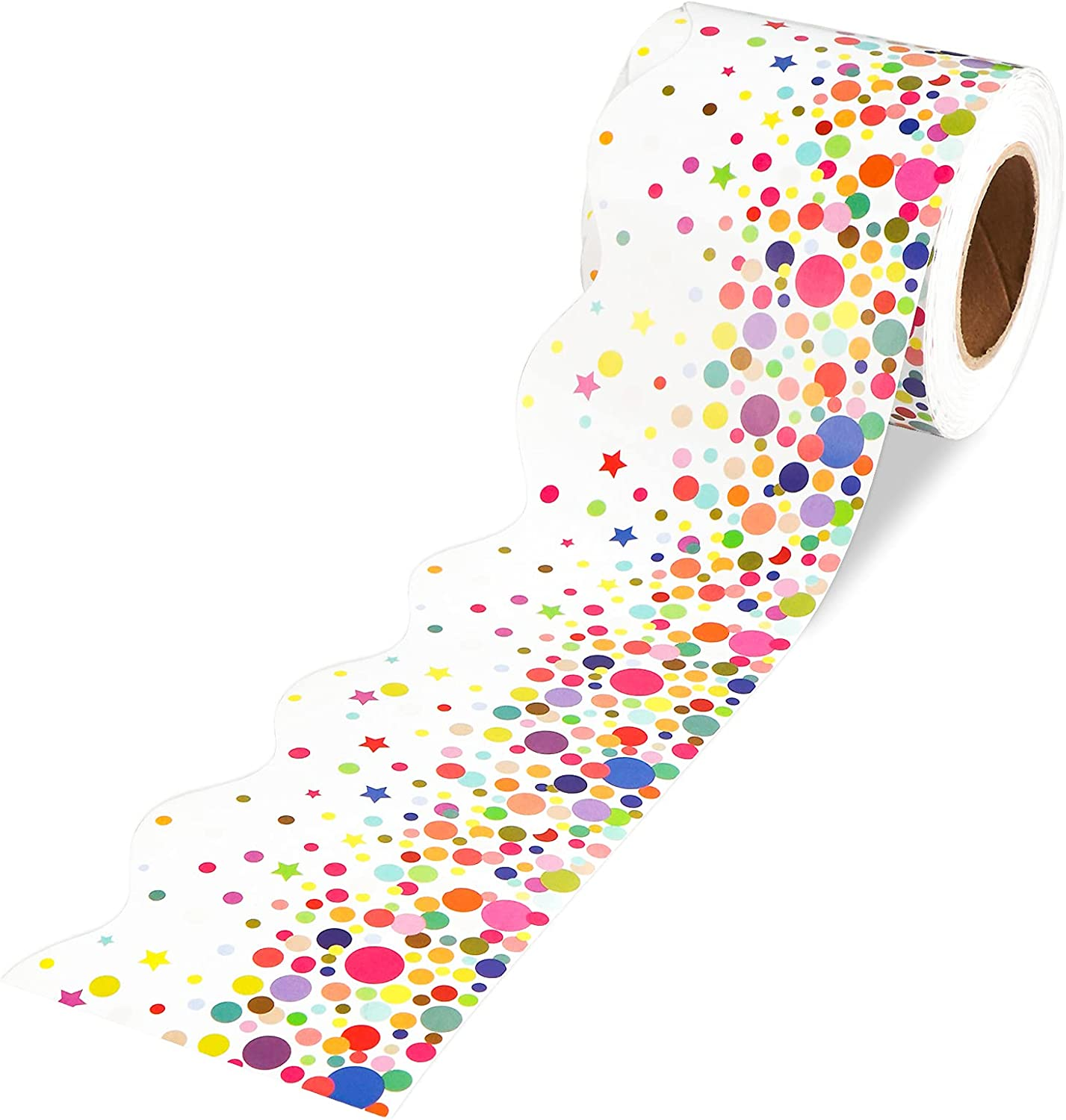OFFicial shop 64 Feet Confetti Bulletin Board Free shipping anywhere in the nation Decoration Classroom Borders for