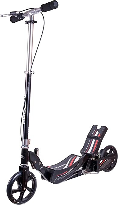 Hudora Race Cubo de Roller basculante Scooter, Negro, One Size