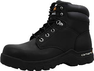 "Carhartt Men's Rugged Flex 6"" Black Comp Toe Cmf6361"