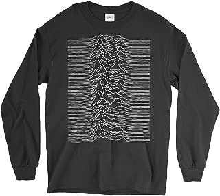 PixiePrints Joy Division - Unknown Pleasures Punk Music Long-Sleeve T-Shirt