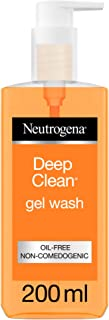 Neutrogena Face Wash, Deep Clean, Gel, 200ml