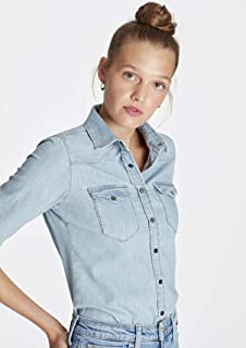 Eliza Vintage Jean Gömlek