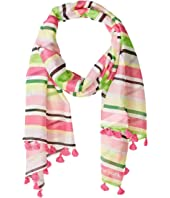 Kate Spade New York - Park Stripe Oblong Scarf