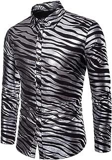 Best mens zebra dress shirt Reviews