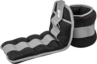 REEHUT Durable Ankle/Wrist Weights (1 Pair) with Adjustable Strap for Fitness, Exercise,..