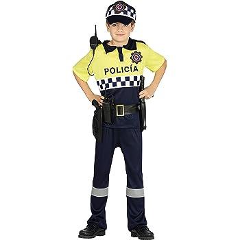 Guirca- Disfraz policía local, Talla 10-12 años (87510.0): Amazon ...
