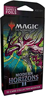 Magic: The Gathering Modern Horizons 2 Collector Booster Pack, 15 Magic Cards