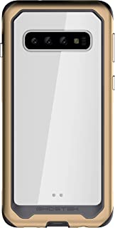 Ghostek Atomic Slim Heavy Duty Protection Hybrid Case Designed for Galaxy S10 (2019) – Gold