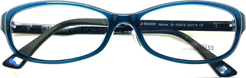 Bliss Prescription Eye Glasses Frame Ultem Super Light, Flexible Bl 3016 C5