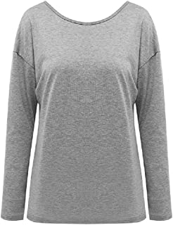 7TECH Backless Sexy Top, Grey