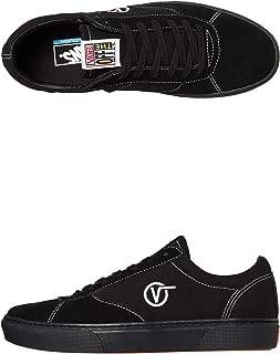 Vans Paradoxxx Black/Black Men's Classic Skate Shoes Size 10