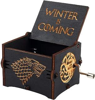 Game Of Thrones Stark Black Edition Classic Mini Blue Music Box