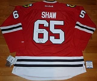 blackhawks andrew shaw jersey
