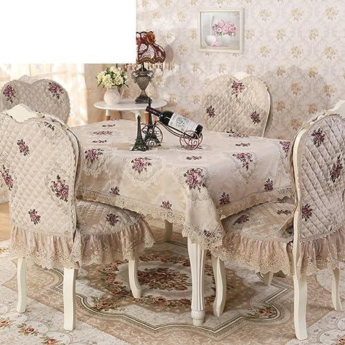 TRE Tischdecken Spitzen Tischdecke und gehobenen Tischdecke [High-End-EuropäischenStil Tapete]-C Durchmesser150cm(59inch)