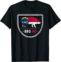 North Carolina State Flag BBQ NC T-Shirt