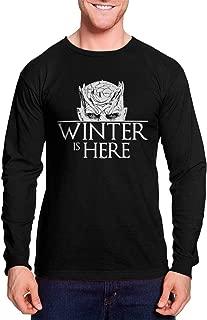 Winter is Here - Night King White Walker GOT Unisex Long Sleeve Shirt