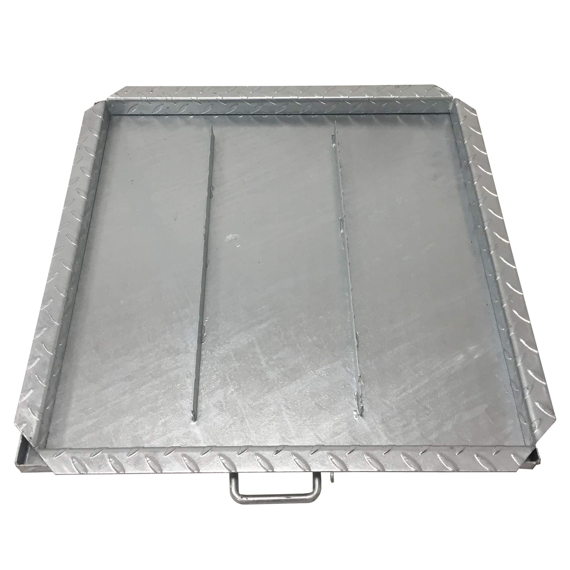 cierre de dep/ósito galvanizado y moldeado Einside Tapa de cisterna todas las dimensiones