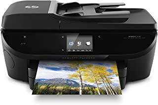HP Envy 7640 Color All in One Photo Two-Sided Printer Wireless Scanner Copier (Certified Refurbished)