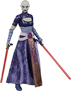 Star Wars The Black Series Asajj Ventress Toy 15-cm-scale Star Wars: The Clone Wars Collectible Figure, Ages 4 and Up