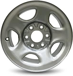 Road Ready Car Wheel For Chevy Astro (03-05) Express (03-08) Silverado (99-05) GMC Safari (03-05) Savana (03-08) Sierra (99-05) 16 Inch 6 Lug Steel Rim Fits R16 Tire