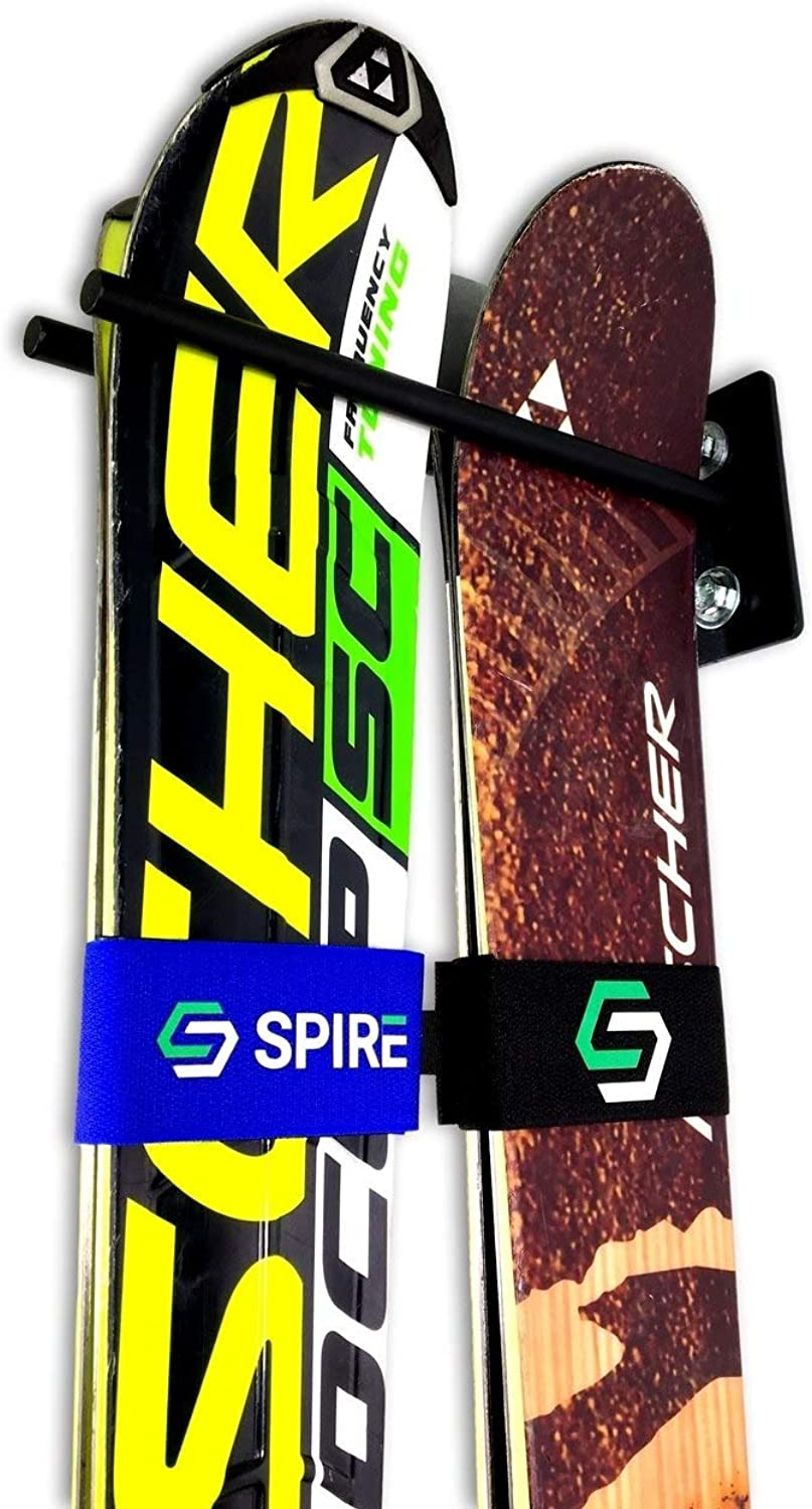 StoreYourBoard Ski Wall Storage Rack   Steel Home and Garage Skis Mount   Ski Couple