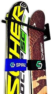 StoreYourBoard Ski Wall Storage Rack, Steel Home and Garage Skis Mount, Ski Couple
